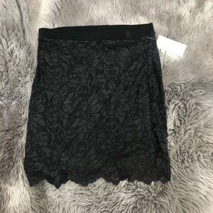 Sympli Lace Mini Skirt (PM1822)